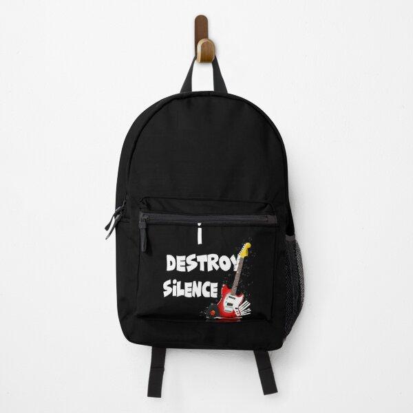 I Destroy Silence Guitar Backpack