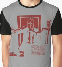 Dead Fiction - Red #2 Graphic T-Shirt