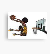 basketball#dunk Canvas Print