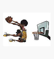 basketball#dunk Photographic Print