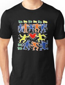 Keith Haring Love Dance Unisex T-Shirt