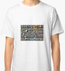 Spray Foam Textures Classic T-Shirt