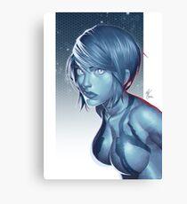 Cortana Canvas Print