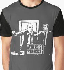 Dead Fiction - White #4 Graphic T-Shirt