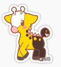Girafarig Sticker