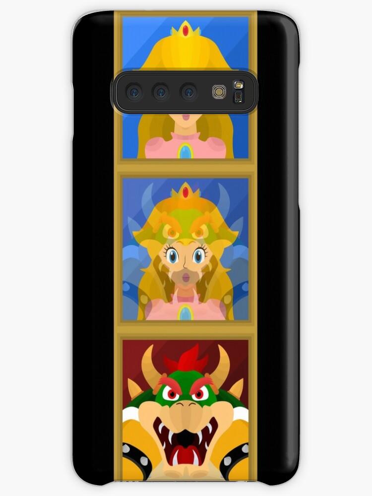 Bowser To Peach A Super Mario 64 Paintings Case Skin For Samsung Galaxy By Bradbeideman