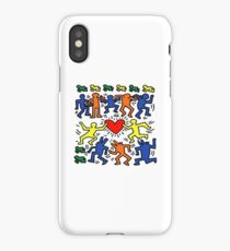 Keith Haring Love Dance iPhone Case/Skin