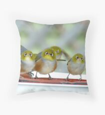 Excuse Me Waiter... But...Where Is The Main Course? - Silver-Eyes - NZ Throw Pillow
