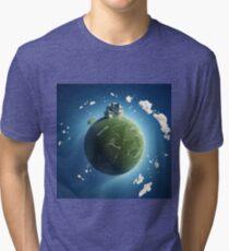 Free House Tri-blend T-Shirt