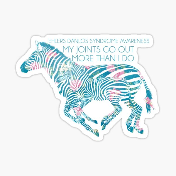 My Joints Go Out More Than I Do (Ehlers Danlos Syndrome Awareness) Sticker