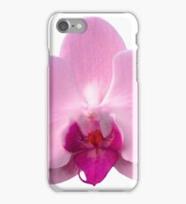 Orchid, Dorne Phalaenopsis in Light Pink iPhone Case/Skin
