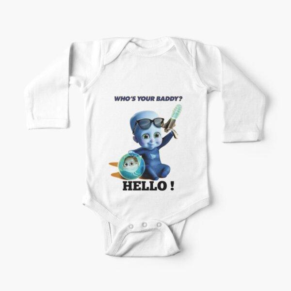 megamind Long Sleeve Baby One-Piece