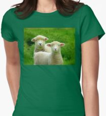 The Red Bubble Definition of Cute! - Lambs - NZ T-Shirt