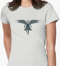 Dominion - Michael archangel Women's Fitted T-Shirt