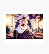 Gwen Stefani Art Print