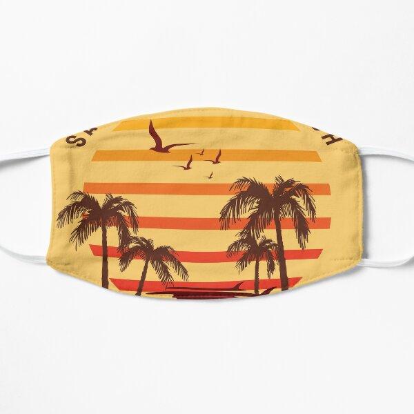 santa monica beach Mask