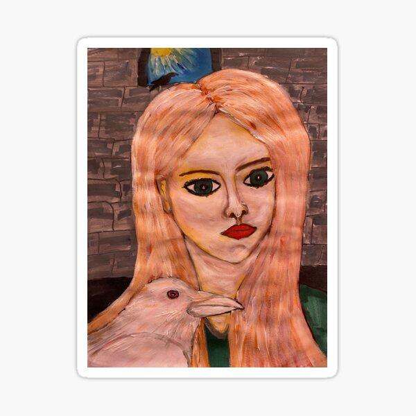 Branwen, Welsh Goddess of Empathy and Love Sticker