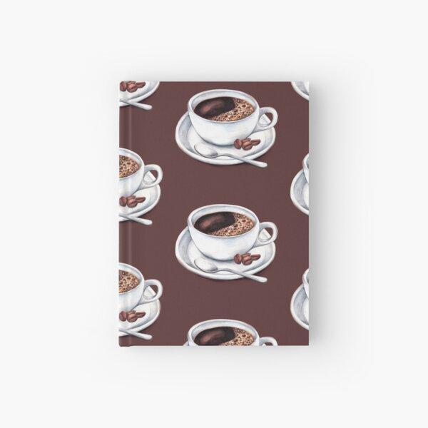 Caffeine Fix Pattern Hardcover Journal