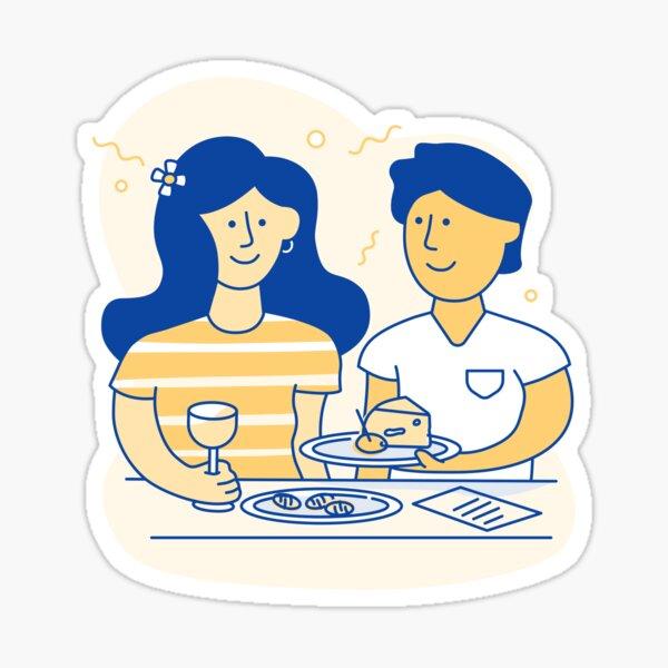 Dinner Sticker