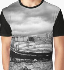 High and Dry at Dungeness Graphic T-Shirt