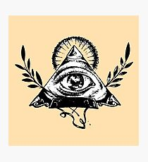 Masonic Icons Photographic Print