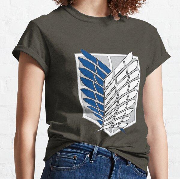 Attaque des titans T-shirt classique