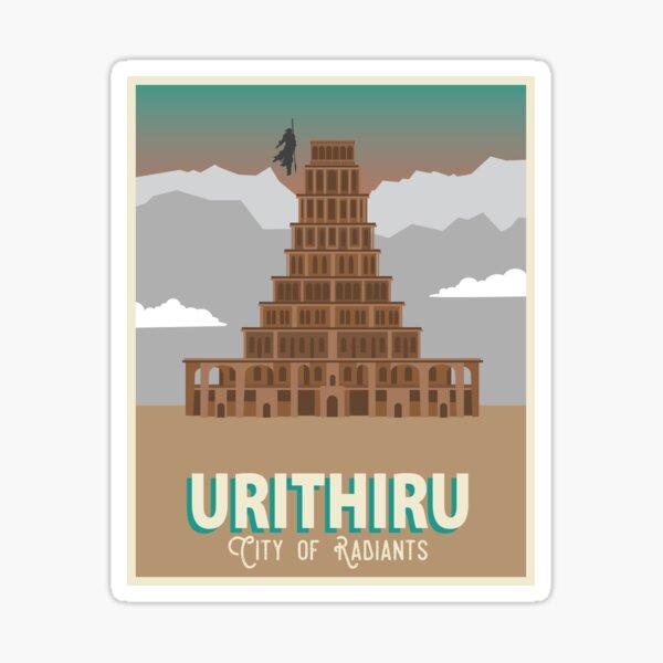 Urithiru Travel Poster Sticker