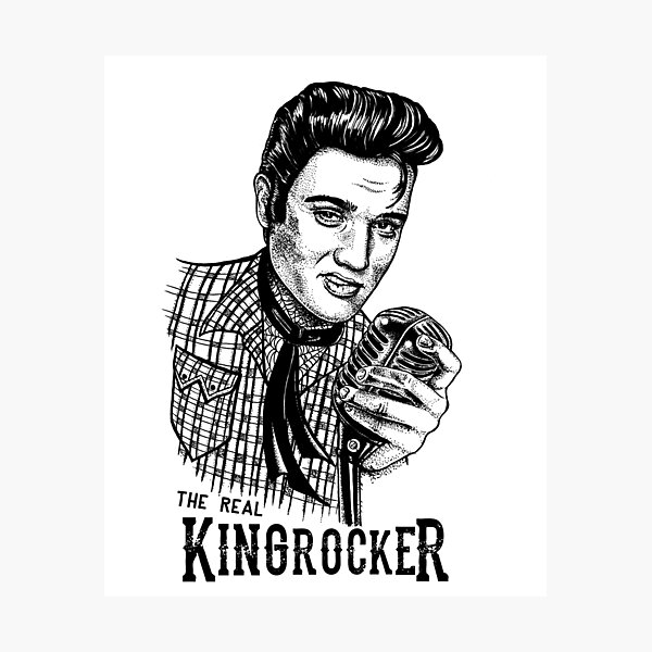 Western Kingrocker Fotodruck