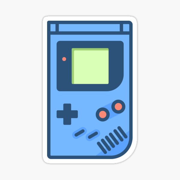 Retro Handheld Console Sticker