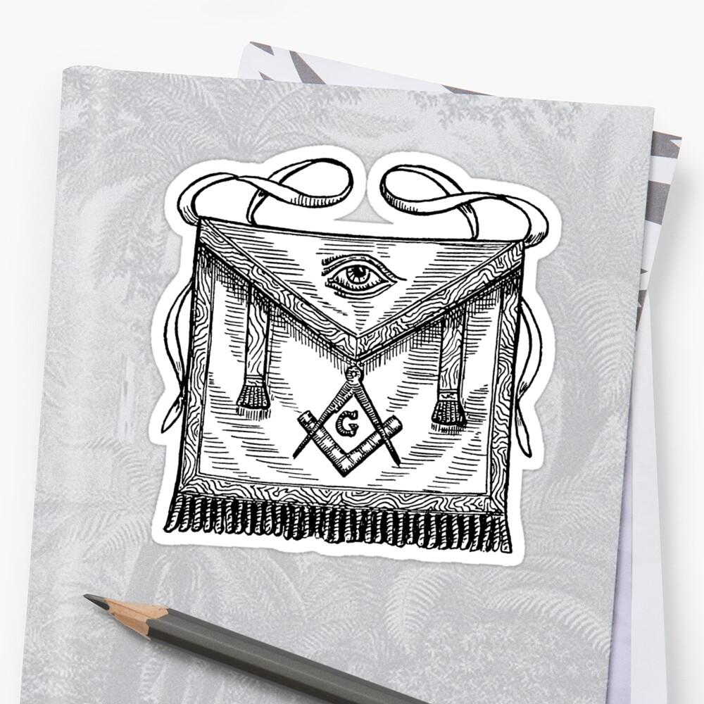 Stone Work In Elevation Symbol : Quot symbols of masonry stickers by boazjachin redbubble
