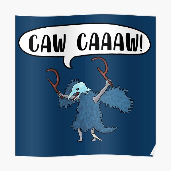 CAW CAAAW! Poster
