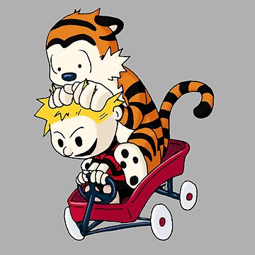 Calvin and Hobbes  by davidojames