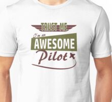 Awesome Pilot Unisex T-Shirt