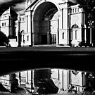Puddle at the Exhibition by Werner Padarin