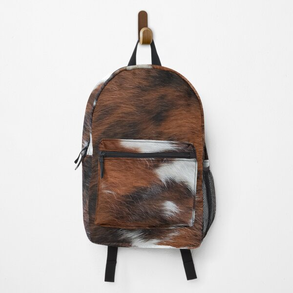 Cowhide Rodeo Western Country Living Backpack