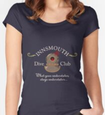 Innsmouth Dive Club Logo Fitted Scoop T-Shirt