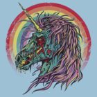 Zombie Unicorn by RicoWear