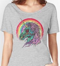 Zombie Unicorn Women's Relaxed Fit T-Shirt