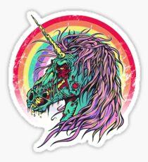 Zombie Unicorn Sticker