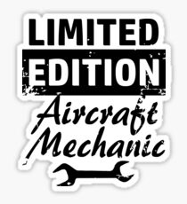 Limited Edition Aircraft Mechanic Sticker
