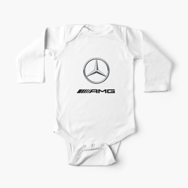LOGOTIPO CAR-BENZ AMG Body de manga larga para bebé