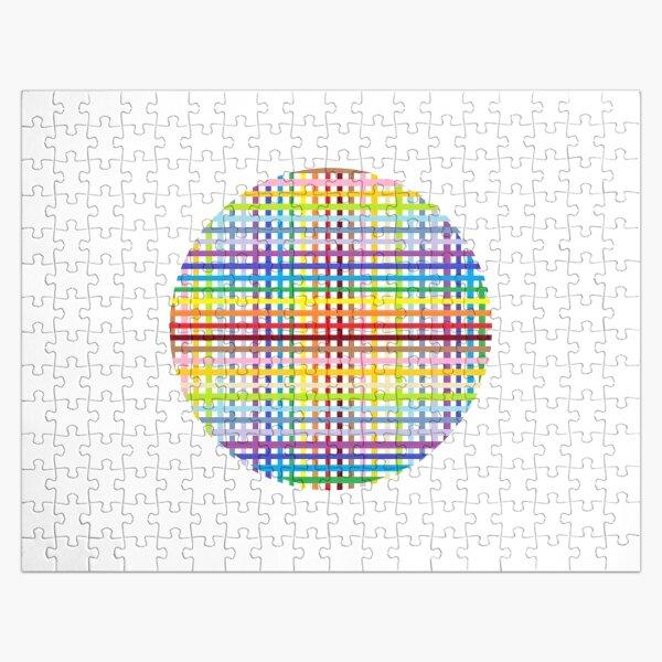 Multicolored stripes Jigsaw Puzzle