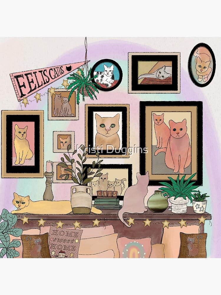 Felis Catus Cat Gallery Wall by BohoBear