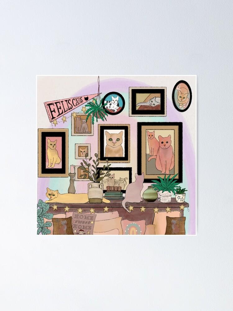 Alternate view of Felis Catus Cat Gallery Wall Poster