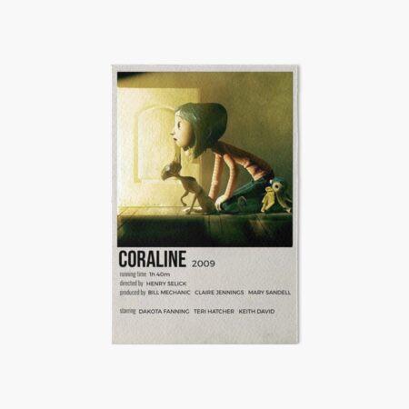 Coraline polaroid movie poster Art Board Print