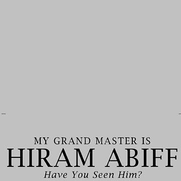 HIRAM ABIFF by boazjachin