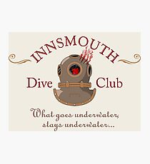 Innsmouth Dive Club Logo Photographic Print