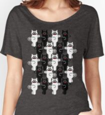 MARCHING CATS Women's Relaxed Fit T-Shirt