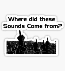 Close encounters of the third kind Sticker