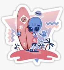 Alien Surf - Serenity Sticker